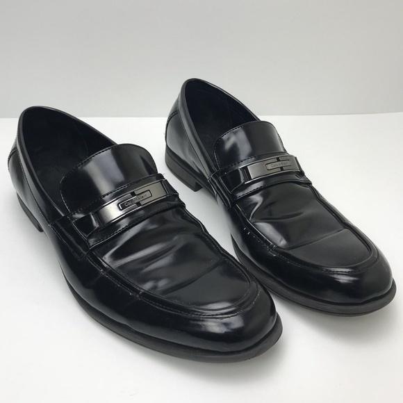 Calvin Klein Shoes Mens Dress Size 11 Black Buckle Poshmark